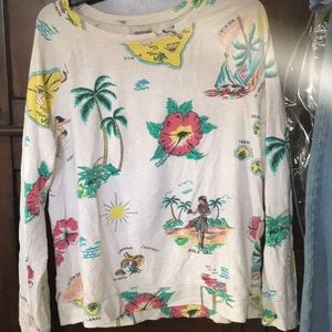 super cute hawaii themed sweatshirt from aerie!